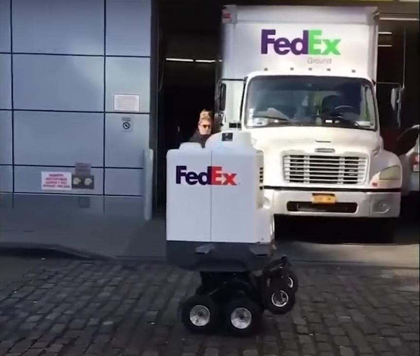 робот FedEx